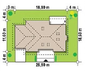 Проект дома Проект Z10, 248.3 м2