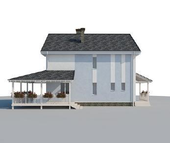 Проект дома AS-2141-2, 188 м2