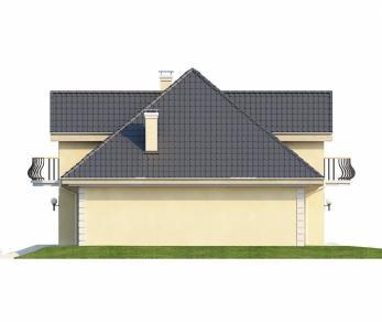 Проект дома Проект Z27, 155.8 м2