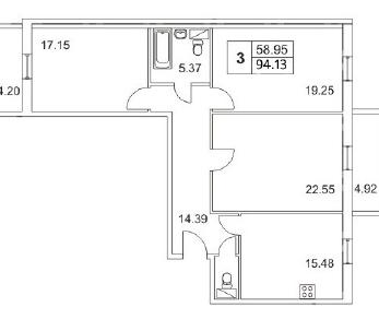 Продажа квартиры Пушкин, Парковая ул., д.44