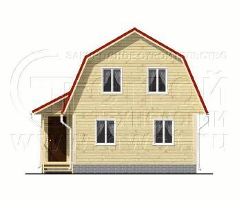 Проект дома Проект дома №55, 42 м2