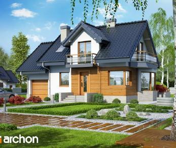 Проект  Дом в перловнике (Н), 121.2 м2