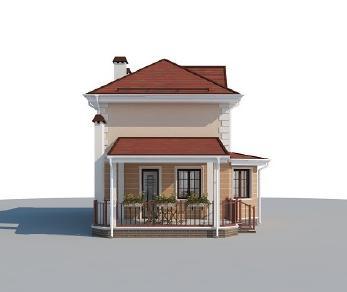 Проект дома AS-2192, 111 м2