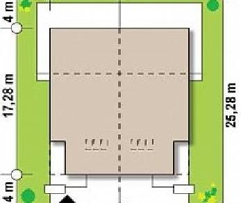 Проект дома Проект Zb8, 218.8 м2