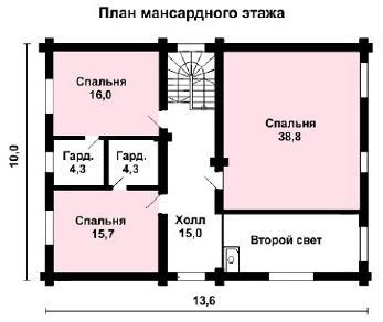 Проект дома AS-2199, 253 м2