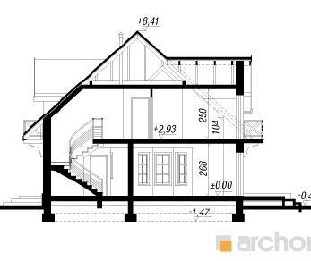 Проект  Дом в ноготках 3, 225.7 м2