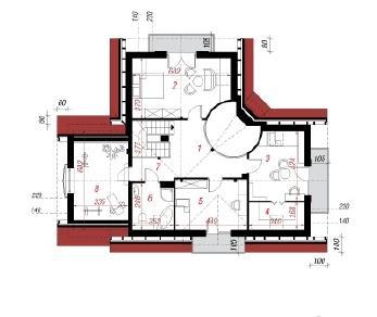 Проект  Дом в алоэ 4, 180 м2