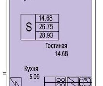 Продажа квартиры Колпино, Понтонная ул., д.3