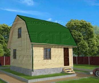 Проект дома Проект дома №70, 36 м2