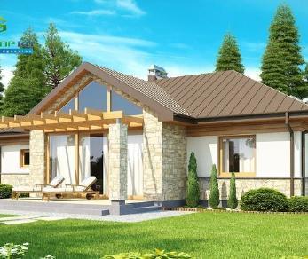 Проект дома Проект z151, 109.7 м2