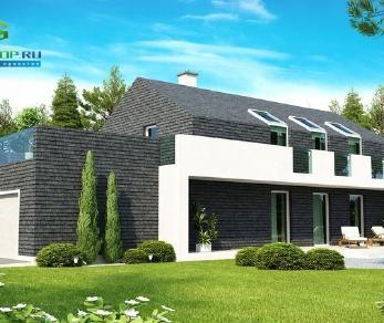 Проект дома Проект zx40, 189.4 м2