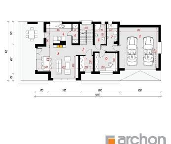Проект  Дом под финиковой пальмой (Г2), 210.5 м2