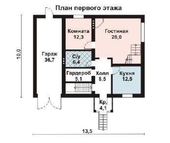 Проект дома AS-2081, 265 м2