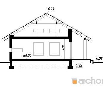 Проект  Дом в палисандрах, 103.6 м2