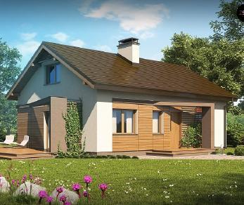 Проект дома Проект Z255, 80.5 м2
