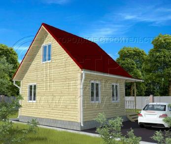 Проект дома Проект дома №53, 42 м2