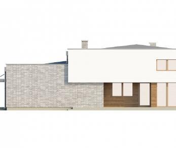 Проект дома Проект Zx34, 190 м2