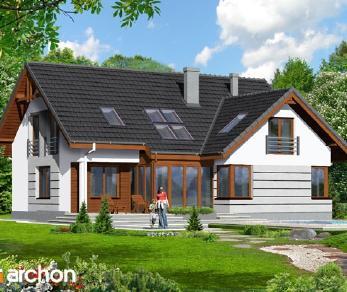 Проект  Дом в хмеле, 245 м2