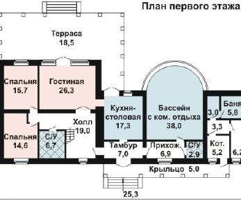 Проект дома AS-2129, 320 м2
