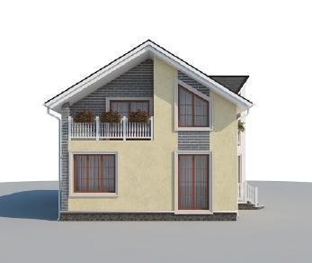 Проект дома AS-2189, 159 м2