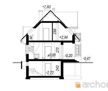Проект  Дом в клюкве (П), 172.7 м2