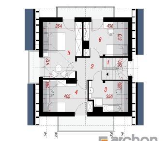 Проект  Дом в рододендронах (Н), 109 м2