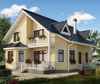 Проект дома AS-1601-2, 193.7 м2