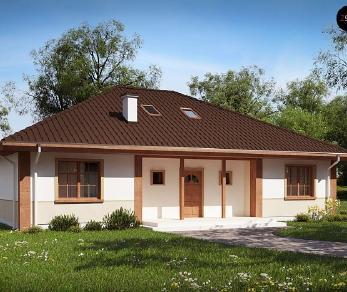 Проект дома Проект Z10, 212.6 м2
