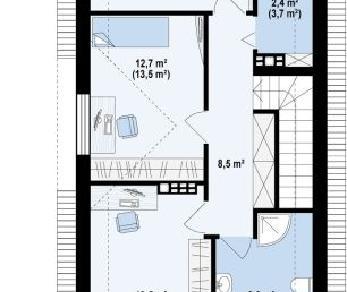 Проект дома Проект z293, 154 м2