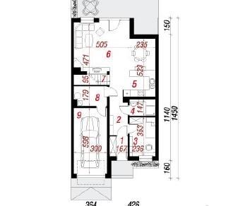 Проект  Дом в клематисах 7 (С), 149.3 м2