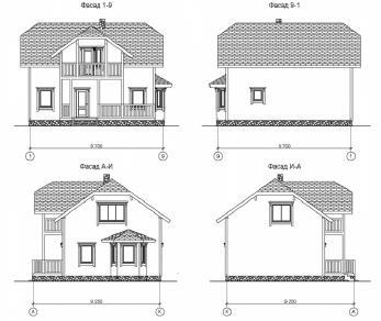 Проект дома КП-003, 147.2 м2