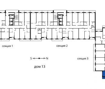 Продажа квартиры пос. Мурино, Охтинская аллея, д. 14
