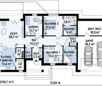 Проект дома Проект z167, 165.7 м2