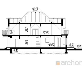 Проект  Дом в боярышнике, 177 м2