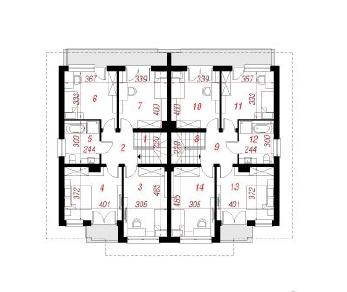 Проект  Вилла Юлия, 289.6 м2