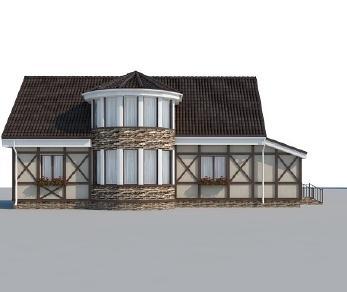 Проект дома AS-2104, 190 м2