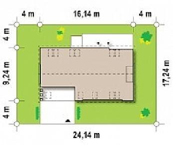 Проект дома Проект Z238, 223.1 м2