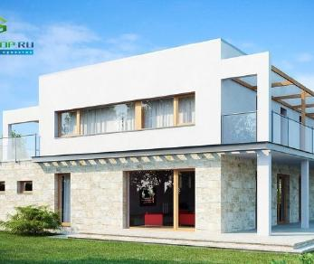 Проект дома Проект zx5, 239.3 м2
