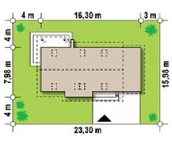 Проект дома Проект Z79, 164.7 м2