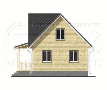 Проект дома Проект дома №101, 58.5 м2