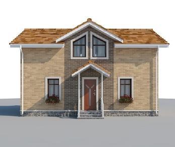 Проект дома AS-2179-2, 101 м2
