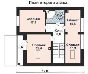 Проект дома AS-2155, 192 м2
