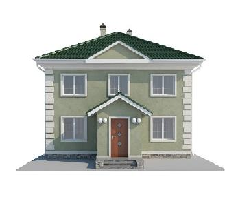 Проект дома AS-2035-2, 144 м2