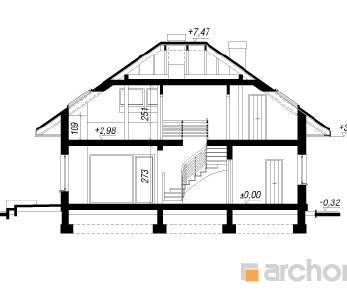 Проект  Дом в сирени (ГПД), 166.7 м2