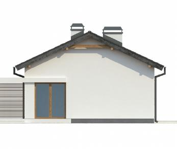 Проект дома Проект Z254, 76.8 м2