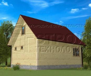 Проект дома Проект дома №15, 48 м2