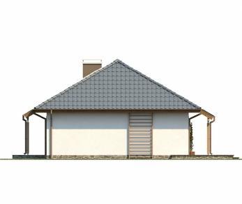 Проект дома Проект Z69, 102.3 м2