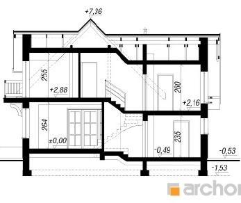 Проект  Дом в антоновке (Г), 132.6 м2