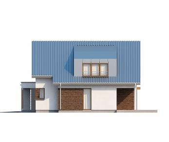 Проект дома Проект Zx23, 164 м2