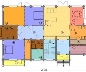 Проект  Дом с панорамным видом, 266 м2